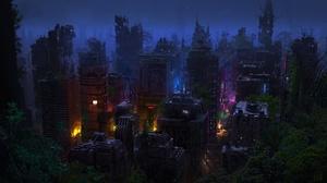 City Post Apocalyptic 1920x1080 Wallpaper
