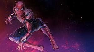 Avengers Infinity War Peter Parker Spider Man 3840x2160 wallpaper