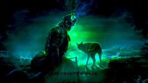 Wolf 2100x1185 Wallpaper