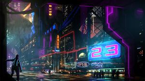 City 2880x1800 wallpaper