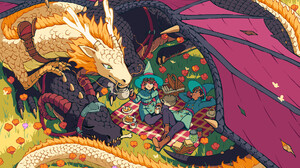 Fantasy Dragon 1920x1280 wallpaper