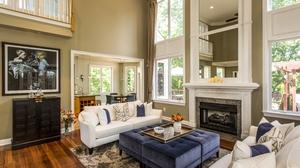 Fireplace Furniture Living Room Room 3000x2000 Wallpaper