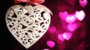 Bokeh Heart 5616x3744 Wallpaper