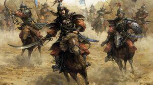 Mongols Warrior 1600x1119 Wallpaper