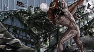 Eren Yeager Armored Titan Reiner Braun 1920x1180 Wallpaper