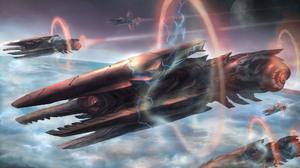 Sci Fi Spaceship 2000x1175 Wallpaper