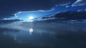 Blue Cloud Ocean Sun 2560x1600 Wallpaper