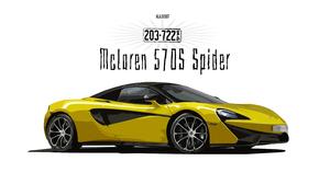 Artistic Car Digital Art Mclaren Mclaren 570s Sport Car Vector Yellow Car 3000x1688 Wallpaper