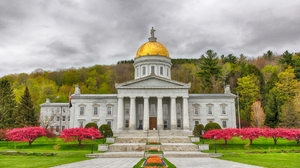 Man Made Vermont State House 1920x1200 Wallpaper