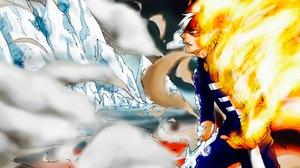 Shoto Todoroki Fire Ice 2584x1786 Wallpaper