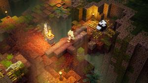 Video Game Minecraft Dungeons 1920x1080 Wallpaper