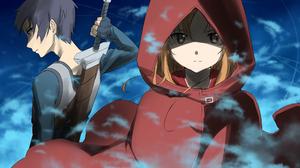 Anime Girls Anime Boys Sword Art Online Kirigaya Kazuto Yuuki Asuna 2859x1447 Wallpaper