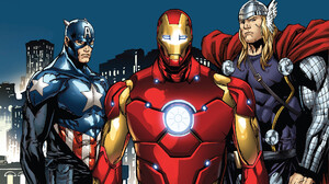 Avengers Captain America Iron Man Marvel Comics Thor 1920x1080 Wallpaper