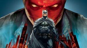 Batman Batman Under The Red Hood Bruce Wayne Dc Comics Jason Todd Red Hood Superhero 3840x2160 Wallpaper