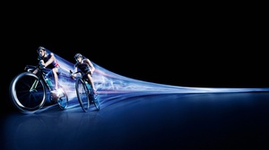 Bicycle Cycling Time Lapse 2880x1800 Wallpaper