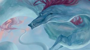 Fantasy Dragon 3500x1750 Wallpaper