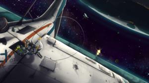 Space 3000x1200 Wallpaper