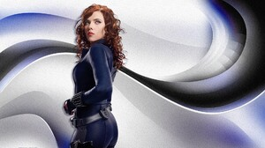 Black Widow Black Widow Scarlett Johansson Iron Man 2 Superheroines Scarlett Johansson Marvel Cinema 1920x1080 Wallpaper
