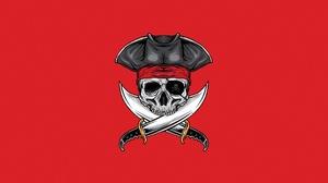 Bones Pirate Skull 1920x1080 Wallpaper