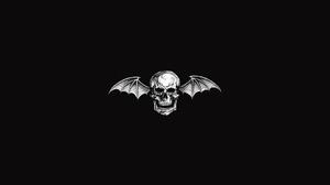 Avenged Sevenfold Deathbat Band Logo Band Mascot Heavy Metal Hard Rock Metalcore Rock Bands Metal Ba 1920x1080 Wallpaper