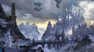 Artwork Fantasy Art Heroes Of Might And Magic Heroes Of Might And Magic 3 Castle Video Games 1920x960 Wallpaper