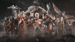 Ant Man Avengers Avengers Infinity War Black Panther Marvel Comics Black Widow Captain America Falco 1920x1080 Wallpaper