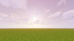 Minecraft Video Games Grass Clouds PC Gaming 1920x1080 Wallpaper