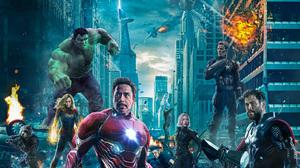 Black Widow Captain America Captain Marvel Hulk Iron Man Nebula Thor 2250x1266 Wallpaper