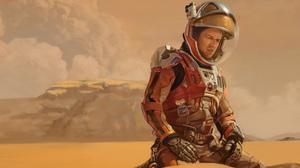 The Martian Matt Damon Digital Art Mars Astronaut Spacesuit 4167x3018 Wallpaper