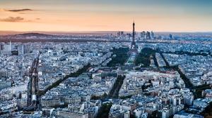 Building City Cityscape Eiffel Tower France Horizon Paris 2000x1250 wallpaper