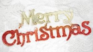 Christmas Golden Merry Christmas Red White 1920x1280 Wallpaper