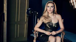 Actress American Blonde Scarlett Johansson 3840x2560 Wallpaper