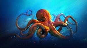 Octopus 1920x1200 Wallpaper