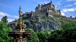 Architecture Castle Edinburgh Scotland 1920x1200 Wallpaper