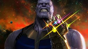 Stars Infinity Gauntlet Marvel Comics Thanos Avengers 1920x1280 wallpaper