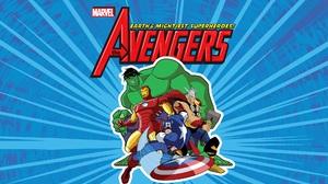 Avengers Captain America Hulk Iron Man The Avengers Earth 039 S Mightiest Heroes Thor Tony Stark 2000x1125 Wallpaper