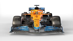 Formula 1 Racing Motorsport Formula Cars McLaren MCL35 McLaren McLaren Racing Lando Norris Dell CNBC 1920x1080 Wallpaper