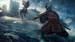 Armor Battle Katana Samurai Warrior 2200x1146 Wallpaper