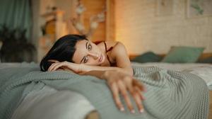 Alina Kolesnikova Ivan Kovalyov Women In Bed 2560x1441 Wallpaper