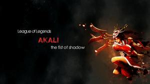 Woman Artistic Akali League Of Legends 1920x1080 Wallpaper