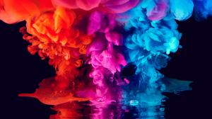 Colors Smoke 3840x2160 Wallpaper