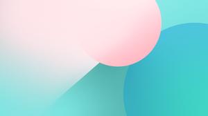 Colorful Minimalism Windows 10 Pastel Shapes Geometry Vysakhjanan 6000x3375 Wallpaper