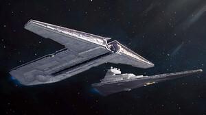 Star Wars Star Wars Ships Vehicle Imperial Forces Star Destroyer Science Fiction Darren Tan Artwork 1800x900 wallpaper