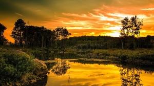 Cloud Forest Hdr Landscape Scenic Sky Sun Sunrise Sunset 1920x1200 Wallpaper