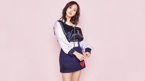 Asian Brunette Girl K Pop Mina Singer Twice Band 1920x1080 wallpaper