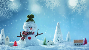 House Tree Winter Snow 2000x1085 Wallpaper