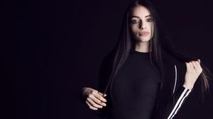 Black Hair Girl Long Hair Model Woman 3000x2000 wallpaper