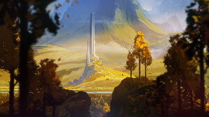 Fantasy Landscape 1920x1191 Wallpaper