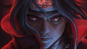 Itachi Uchiha Red Eyes 1920x1600 Wallpaper