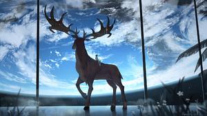 Boy Deer Earth 1920x1080 Wallpaper